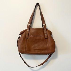 B. Makowsky Genuine Leather Shoulder Bag